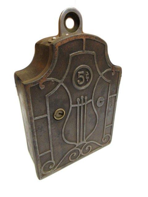 Monarch Cast Iron Nickel Wallbox