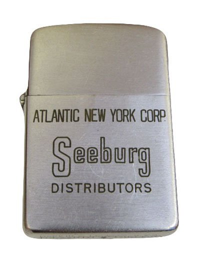 Zippo Lighter for Seeburg Jukebox Distributors