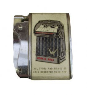 Lighter Featuring 1959 Wurlitzer 2300 Jukebox