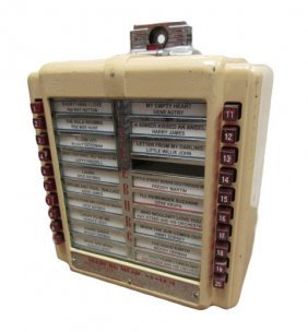 1946 Single Coin Entry Wired Seeburg Wallbox