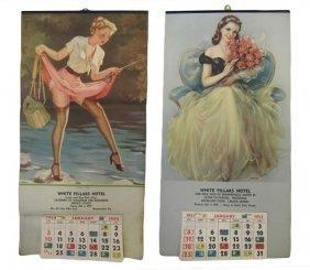 1953-54 Pin Up Girl Calendars