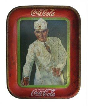 Coca-cola Tin Advertising Tray