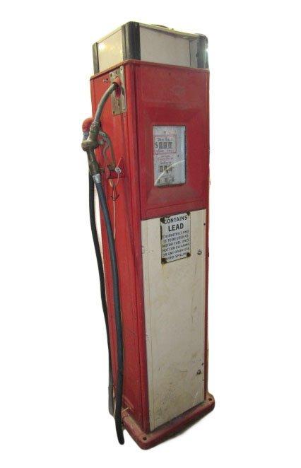 1935 Gilbert & Barker Model 80 Gas Pump