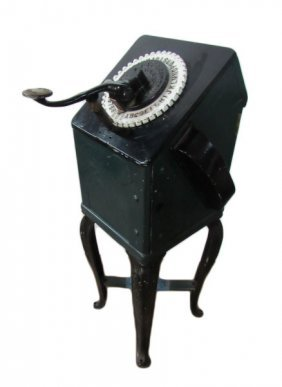 Early 1900s Roovers Stamping Machine