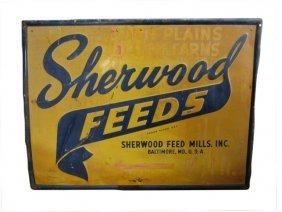 Sheerwood Feeds Advertising Metal Sign
