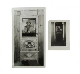 Two Old Photographs Of Grandmother's Predictions