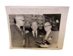 Press Photo 50th Anniversary Wurlitzer Company Going