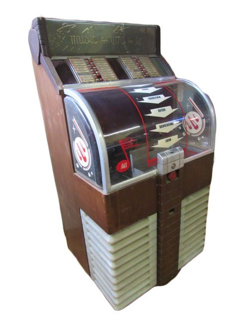 1953 AMI Model D Jukebox