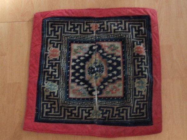 5A: Tibetan Saddle Rug C. 1900