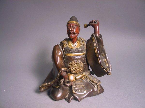 9: Japanese Bronze Figure