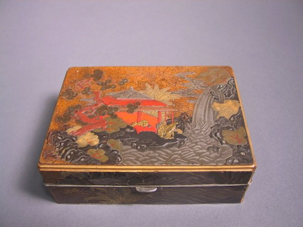 7: Japanese Lacquer Box