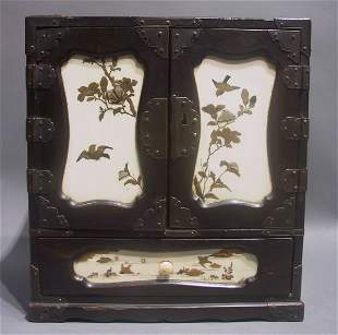 Japanese Lacquered Table Cabinet