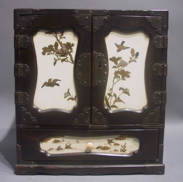 24: Japanese Lacquered Table Cabinet