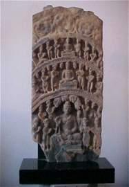 73: A Gandharan Greystone Stele