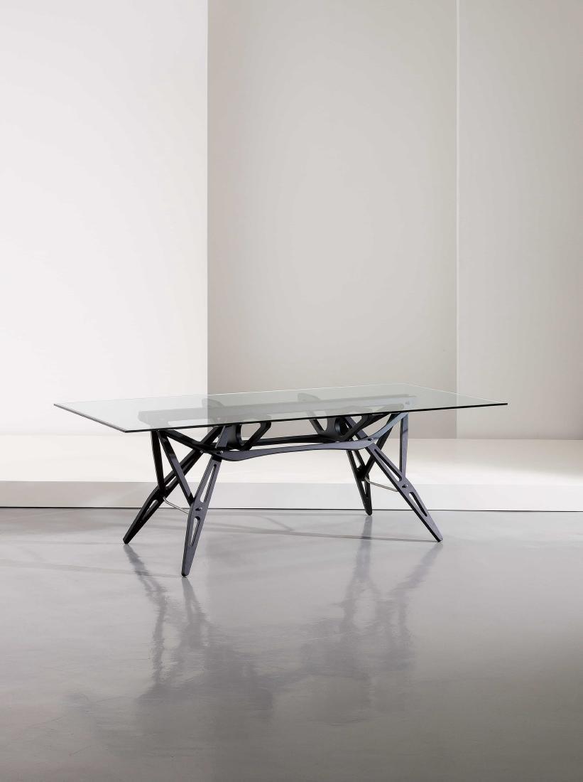 CARLO MOLLINO - A DINING TABLE BY C. MOLLINO -