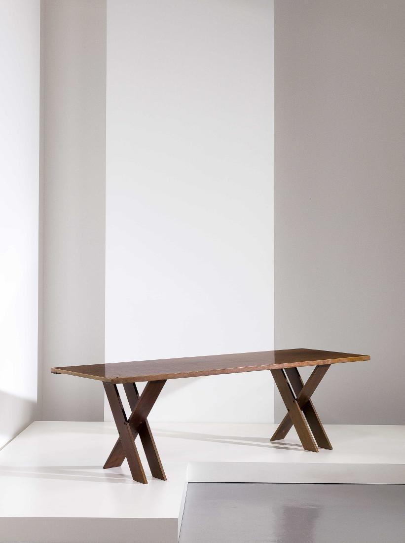 MARCO ZANUSO - A DINING TABLE BY M. ZANUSO -