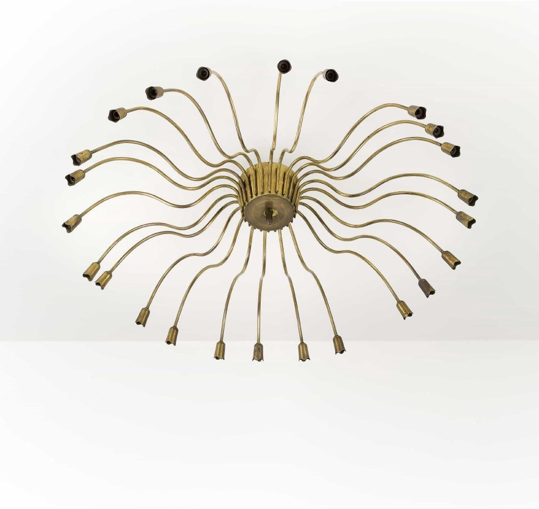 GINO SARFATTI  - A CEILING LAMP BY G. SARFATTI -