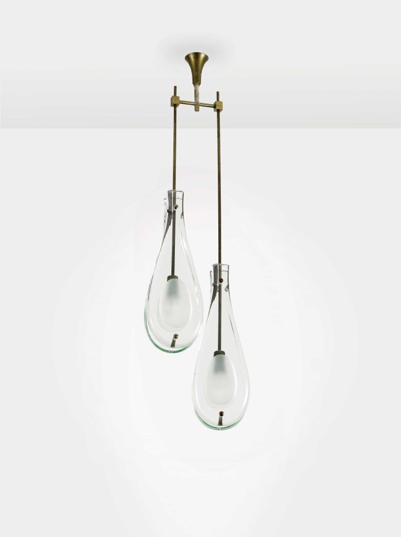 MAX INGRAND - A CEILING LAMP BY M. INGRAND -