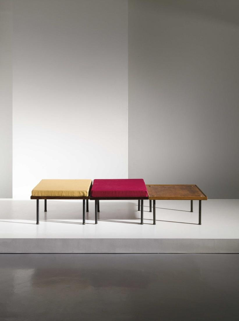 FABRIZIO BRUNO - THREE MODULAR LOW TABLES - SETTEE BY.