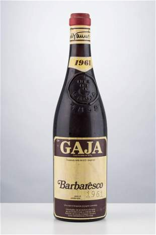Barbaresco 1961, Gaja