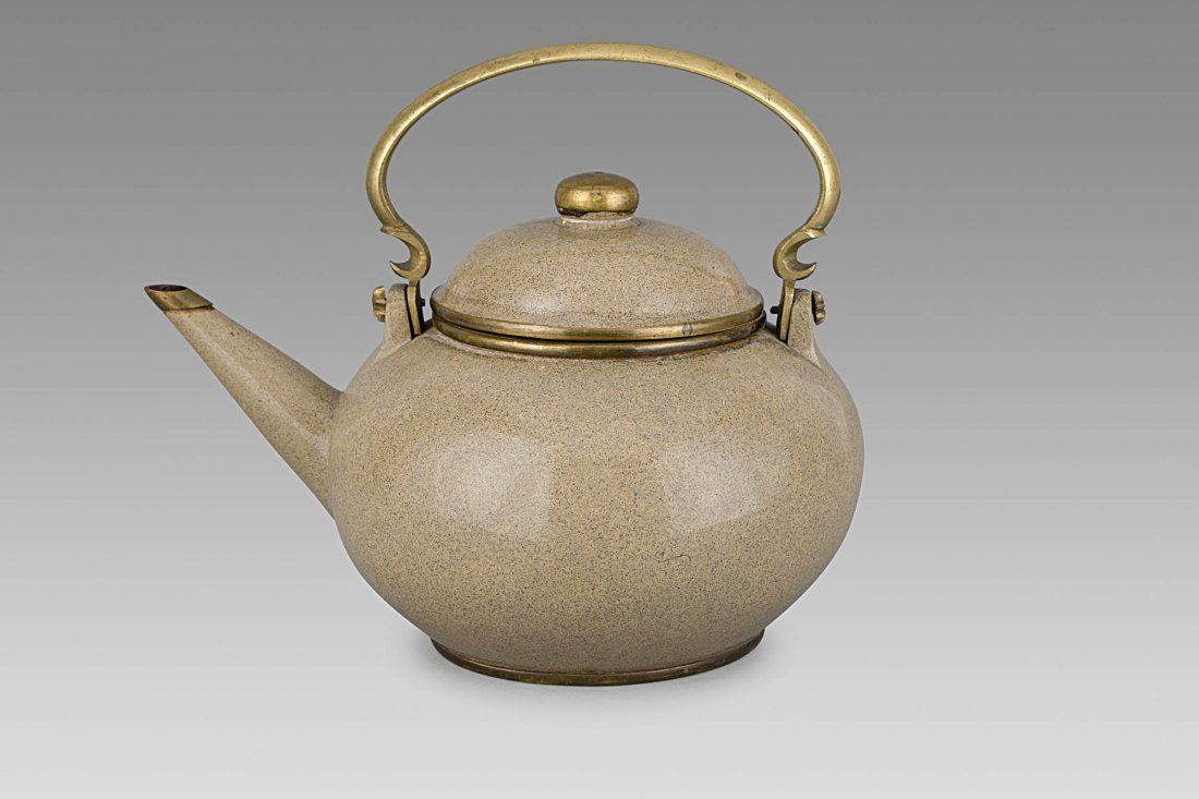 A YIXING TEAPOT, CHINA, 19TH-20TH CENTURY, SIGNED