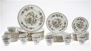 Set of Aynsley Pembroke Pattern Dinnerware, 67 Pcs.