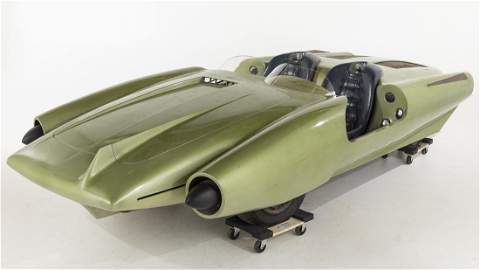 John Bucci, La Shabbla, 1964 Worlds Fair Concept Car