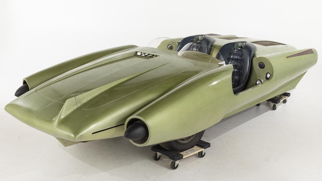 John Bucci, La Shabbla, 1964 Worlds Fair Concept Car