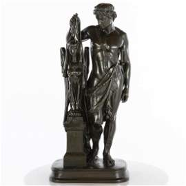 Pierre Eugene Emile Hebert, Oedipe, Bronze
