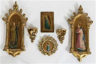 6 Giltwood Articles