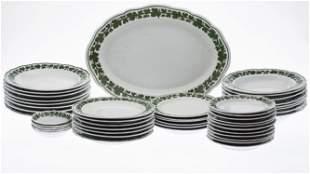 Set of Meissen Porcelain Dinnerware, 80 pc.