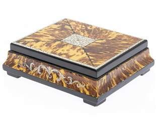 Bob Christian Faux Tortoiseshell Painted Box