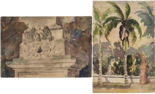 Christopher P.H. Murphy, 2 Works (One Double Sided),