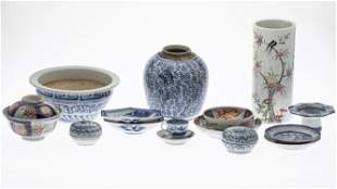 15 Misc. Asian Porcelain Items
