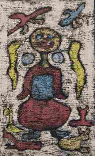 Charles Moses Brown, Untitled, Monoprint