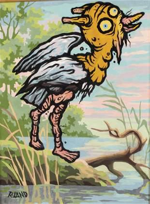 Ronnie Land, Bird Painting