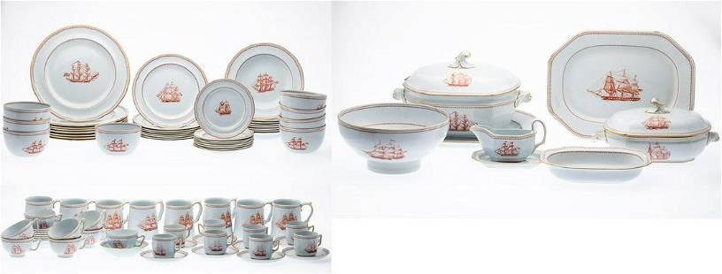 Copeland Spode Historic Newport China Set, 94 pcs.