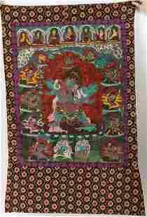 Tibetan Thangka, 20th Century