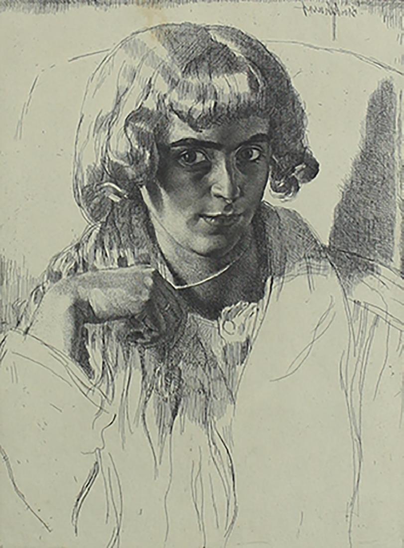 Gerald Leslie Brockhurst (1890-1978) UK/ New York
