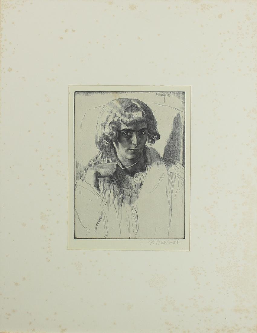 Gerald Leslie Brockhurst (1890-1978) UK/ New York - 2
