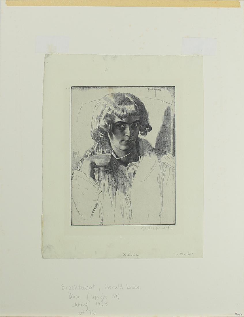 Gerald Leslie Brockhurst (1890-1978) UK/ New York - 3