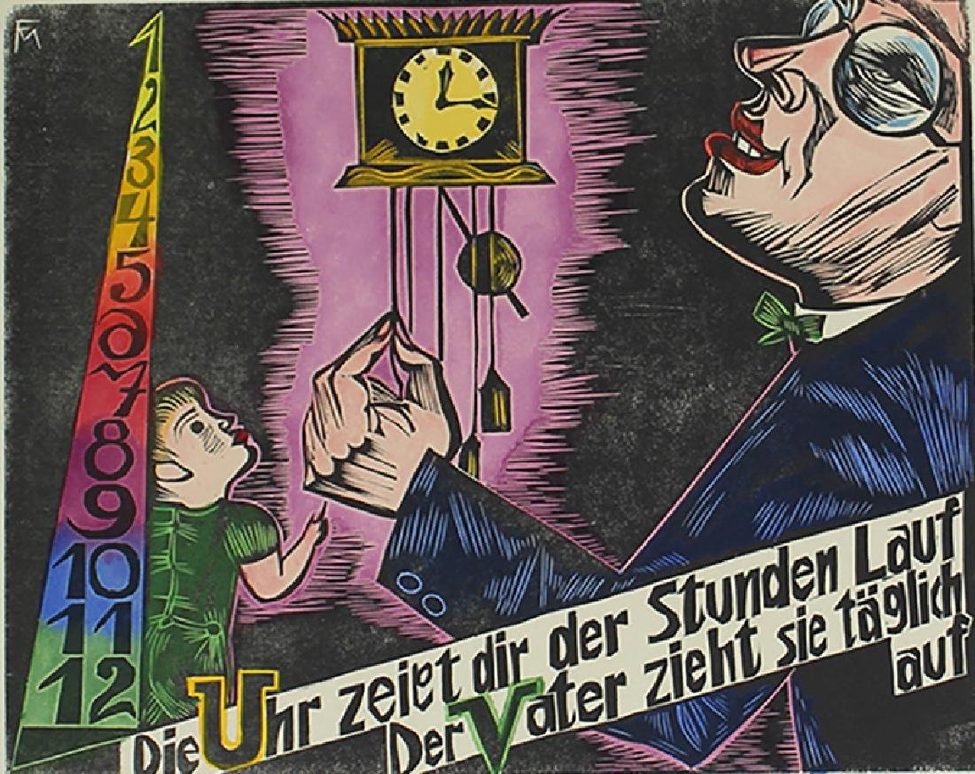 Conrad Felixmuller (1897-1977) German
