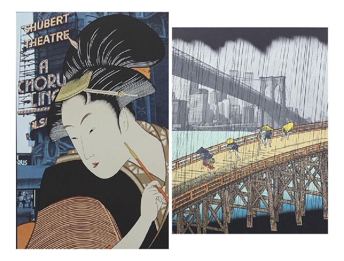 Michael Knigin (b. 1942) New York (two)