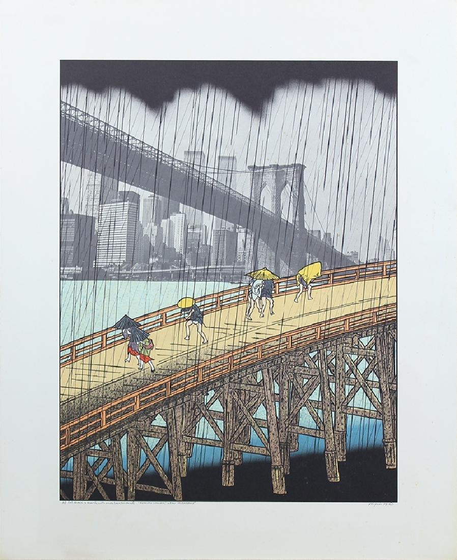 Michael Knigin (b. 1942) New York (two) - 3