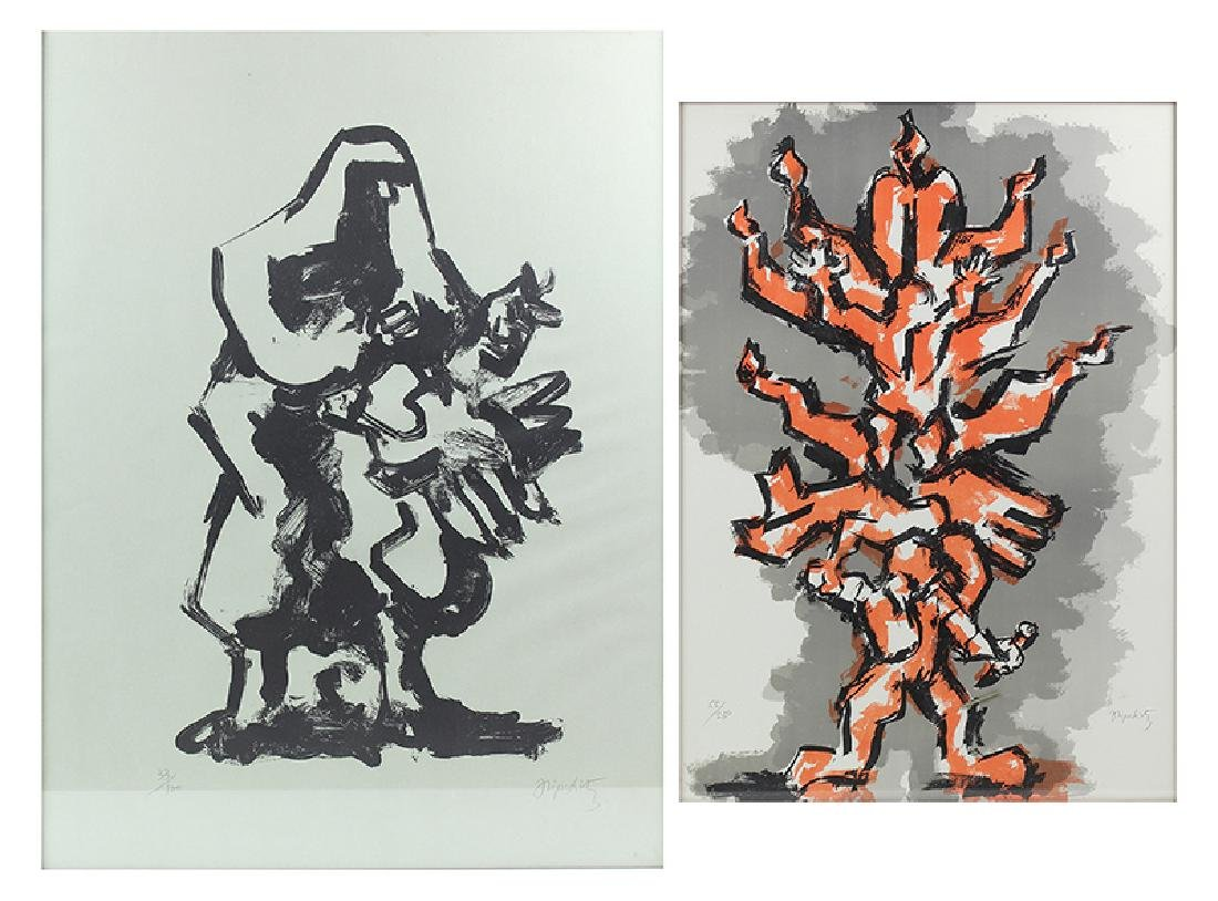 Jacques Lipschitz (1891-1973) New York (two)