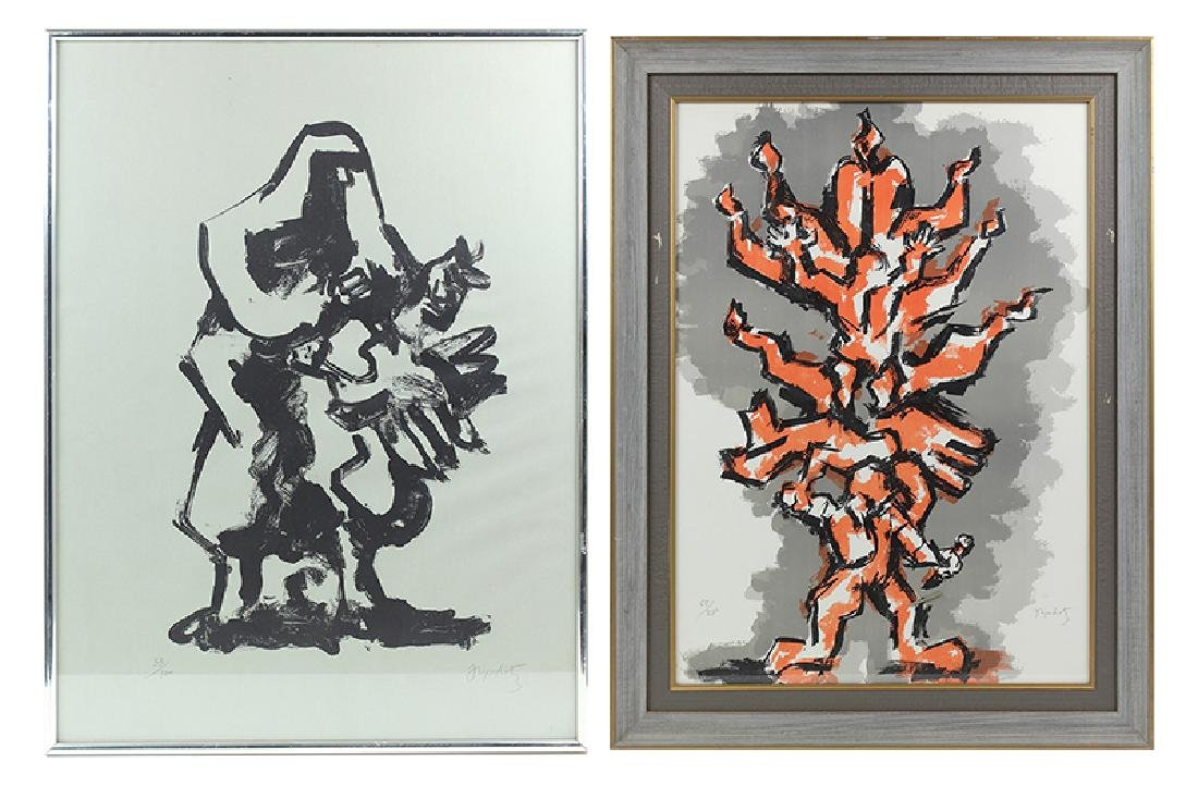 Jacques Lipschitz (1891-1973) New York (two) - 6