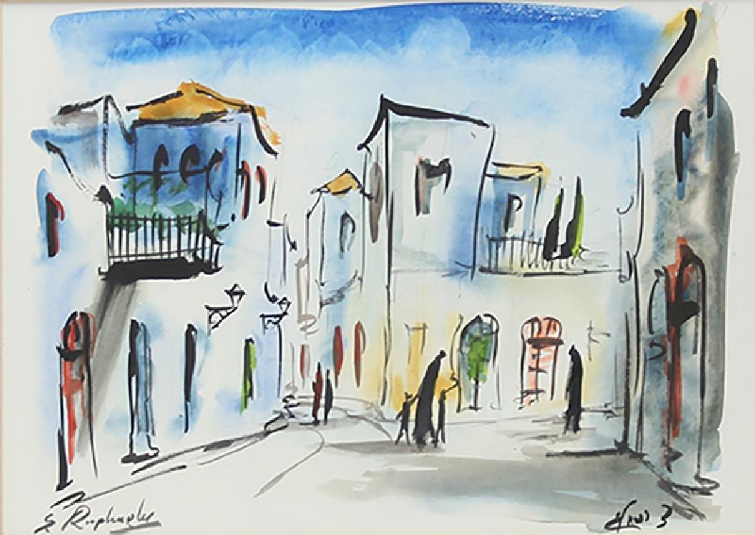 Zvi Raphaeli (1924-2005) Israeli (two) - 3