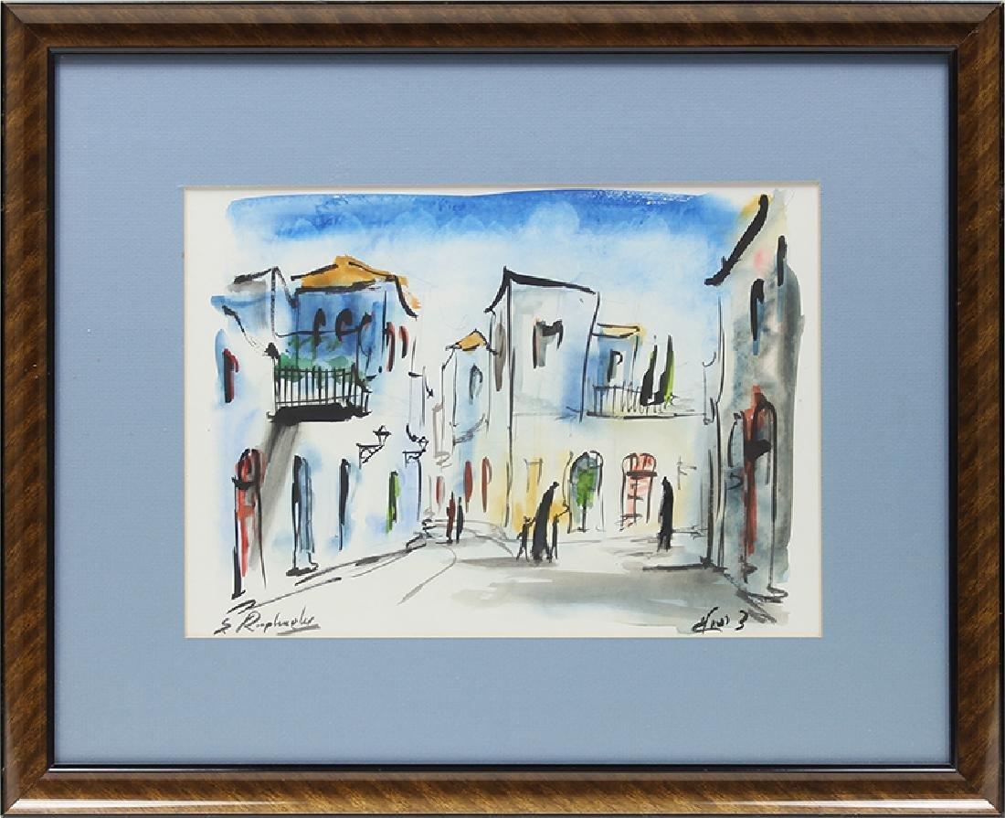 Zvi Raphaeli (1924-2005) Israeli (two) - 5