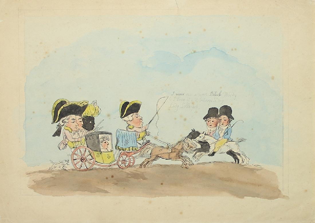 Thomas Rowlandson or circle of (1756-1827) British