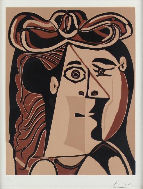 Pablo Picasso (1991-1973) SpanishPablo Picasso